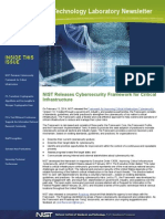 Cybersecurity Framework for Critical Infrastructure