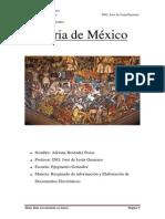 Historia De Mexico Adriana Reséndiz Pozas