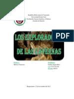 Caso de Los Exploradores de Las Cavernas- Caribay Segura.