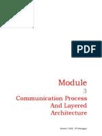 Communication Process and Layered Architecture