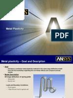 Metal Plasticity