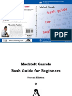Machtelt Garrels Bash Guide for Beginners 2nd Ed