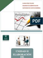 Clase 11 -Unidad II Elaboración de presupuesto.pptx