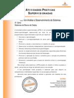 ATPS 2014 1 TADS3 Sistemas de Banco de Dados