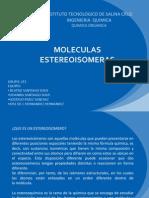 MOLECULAS ESTEREOISOMERAS