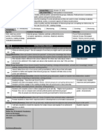 Lesson Plan Template for 1st Observation