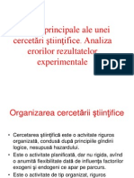Etapele Elaborarii Unei Cercetari Stiintifice
