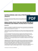 Safeguarding and Child Protection September2013
