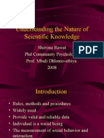 Understanding the Nature of Scientific Knowledge