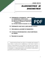 Radiometrie si dozimetrie - Biofizica ( medicina)