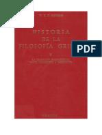 Historia de la filosofía griega II