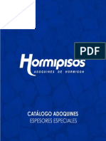 especiales HORMIPISOS