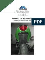 Manual Instalação ELiminador Ninja 250cc