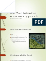 dota behaviour econ - c poon