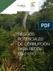 Riesgos potenciales de corrupción para REDD+ en Perú