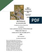 Conference of the Birds-faridudin Attar