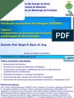 Fundamentos do processo de formação e solidificação da Zona Fundida_Especialização_SIMISA_2014