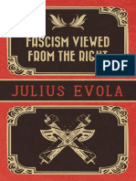 Fascism Viewed From the Right Evola Julius
