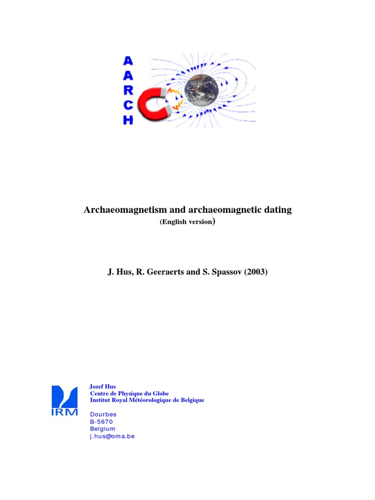 Archaeomagnetic dating accuracy international magazines