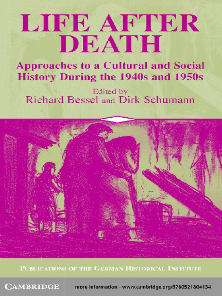 15b14f93df08f Editors Life After Death Approaches to a Cultural and Social History of  Europe
