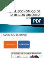 PERFIL ECONÓMICO DE LA REGIÓN AREQUIPA
