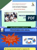 PROGRAMACIÓN  ANUAL_Comunicación_2012