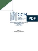 Plan de Emergencia GCM