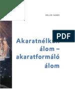 Haller Ágnes - Akaratnélküli álom akaratformáló álom