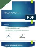 trigonometria sistemas de medicion de ángulos funciones trigonométricas