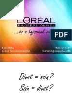 L'Oreal - A hajszínek világa