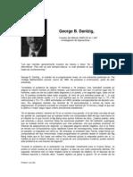 Entrevista George Dantzing