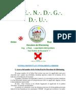 Vetera Instituta Et Fundamenta Ordinis