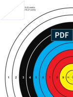 FITA 40cm Archery Target