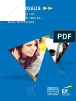 Crossroads report on Australia's mental health system