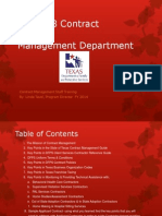 region 8 contract management department staff training ppt