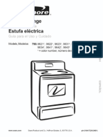 Kenmore Electric Range Manual