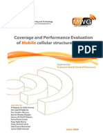 Coverage and Performance Evaluation of Mobile Cellular structured WiMAX