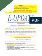 E-Update - March 9, 2014