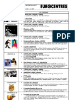 Plan de Actividades 19 - 25 Octubre