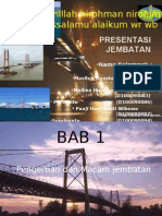 power point bangunan jembatan, teknik sipil