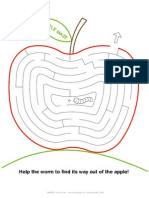 Mrprintables Apple Maze
