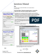 Bend Tech Pro Manual