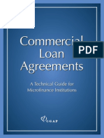 CGAP Technical Guide Commercial Loan Agreements Oct 2006