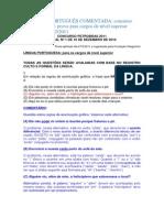 PROVA DE PORTUGUÊS COMENTADA_Petrobrás