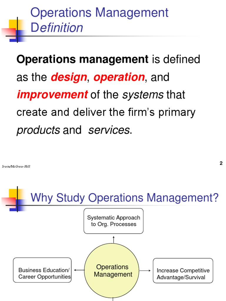 mba 8155 slides 1d | operations management | exports