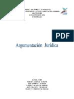 Argumentación  Jurídica