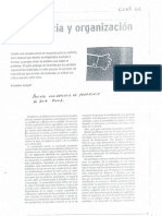 Convivencia y Organizacion Escolar