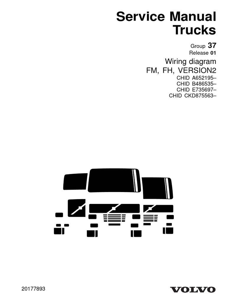 diagrama elctrico fh d13 2013 pdf