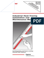 Heat trace install