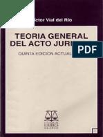 Acto Juridico Vial